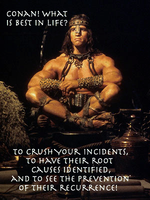 Conan the Problem Manager